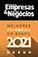 Selo Empresas e negócios 2021
