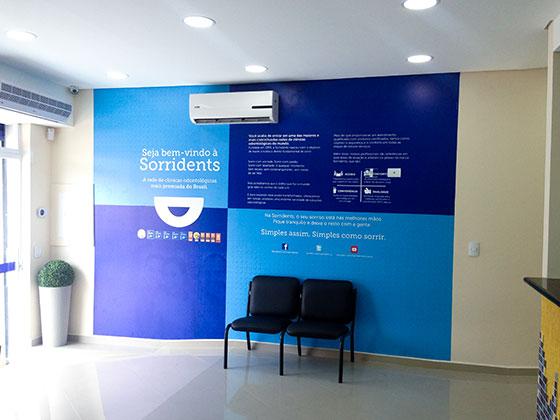 estrutura clínica odontológica sala de espera 11ea678e57