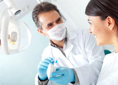 moldando protese dentaria